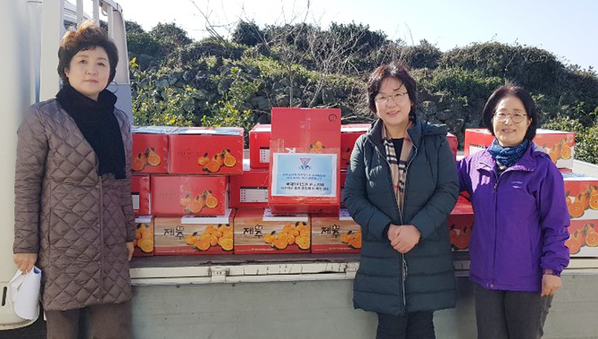 Jeju Clubs Supporting COVID-19 Frontline