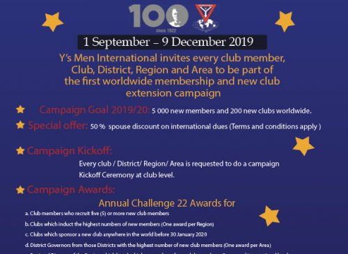 100 Day Membership Campaign