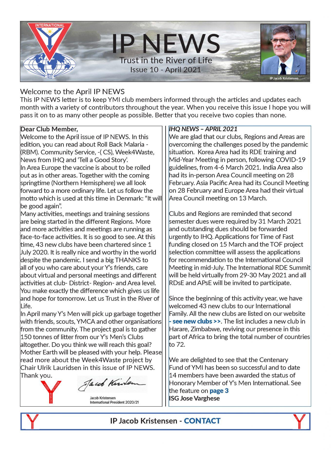 IP e-News – April 2021