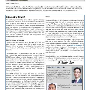 IP e-Newsletter – March 2020