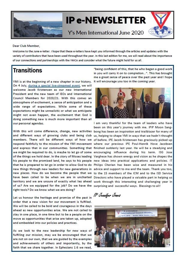 IP e-Newsletter – June 2020