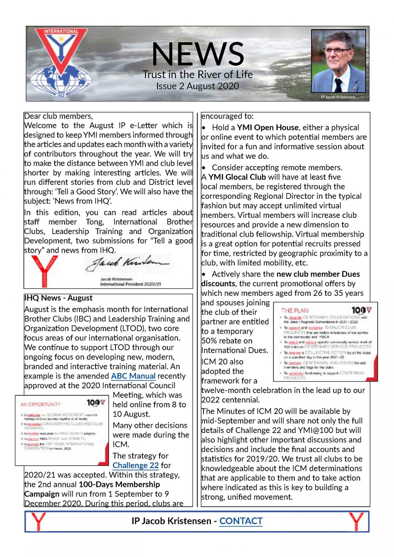 IP e-News – August 2020